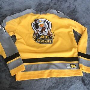 Kids hockey style jersey from Disney store